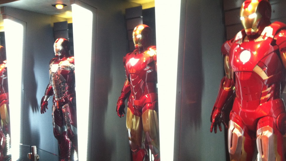 Become Iron Man at Disneyland's Iron Man Tech Exhibit