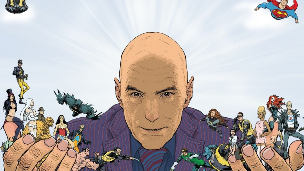 "Grant Morrison Talks ""Wonder Woman: Earth One"", ""Multiversity"" and More"