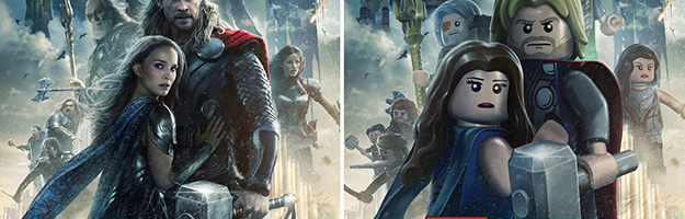 Thor: The Dark World Movie Poster Gets LEGO'd