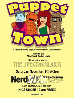 Puppet Town NerdMelt Showroom