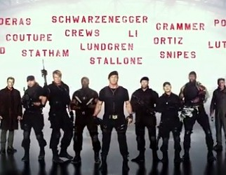 EXPENDABLES 3 Teaser – More Names Than the Phone Book