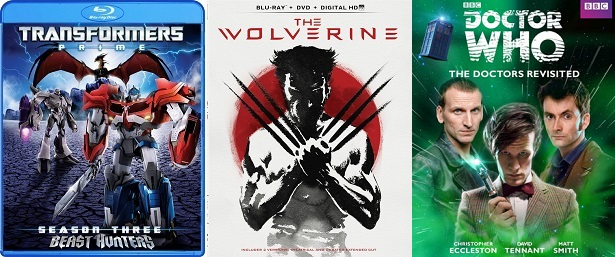 The Shelf: THE WOLVERINE, TRANSFORMERS PRIME, DOCTOR WHO