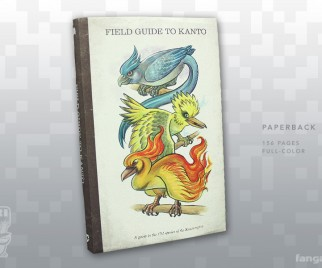 The FIELD GUIDE TO KANTO is Pure POKEMON Bliss