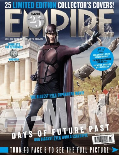 Michael Fassbender as Magneto