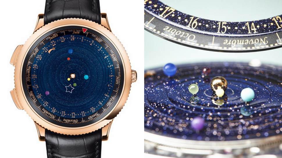 Wear the Entire Solar System on Your Wrist For Just $245,000