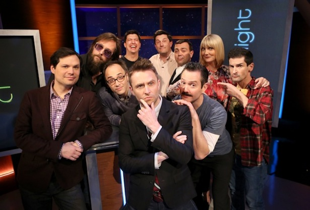 THE STATE Reunited For @midnight