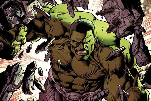 Marvel Re-launches THE HULK with All-New #1 in April