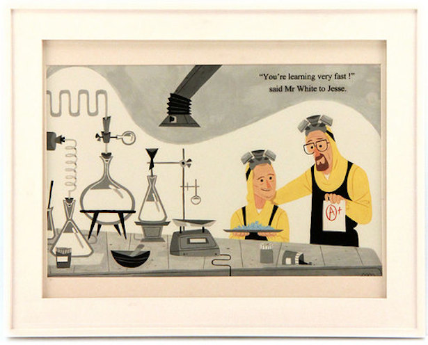 BREAKING BAD, STAR WARS Inspired Art in Gallery Nucleus' Adorable New Show