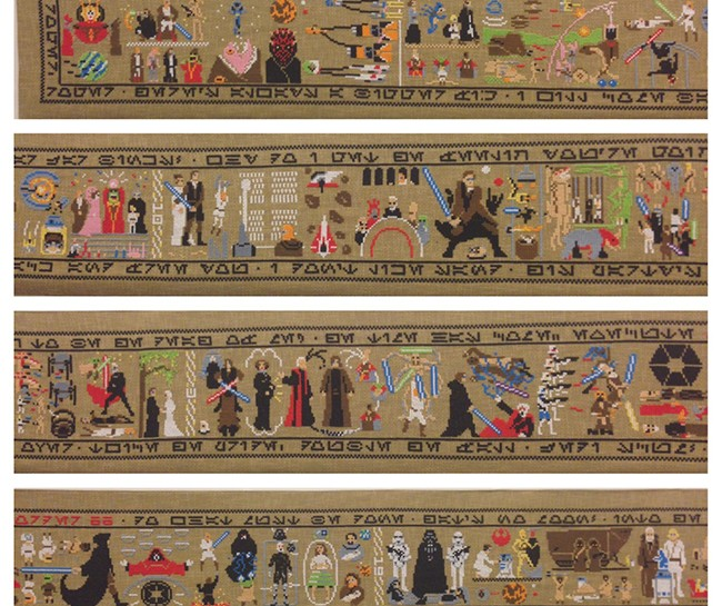 'The Coruscant Tapestry' Tells the Story of STAR WARS In Thirty Feet
