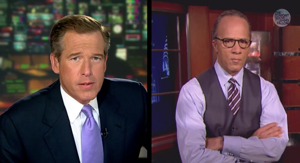 From The Tonight Show: 'Rapper's Delight' by Brian Williams Featuring Lester Holt