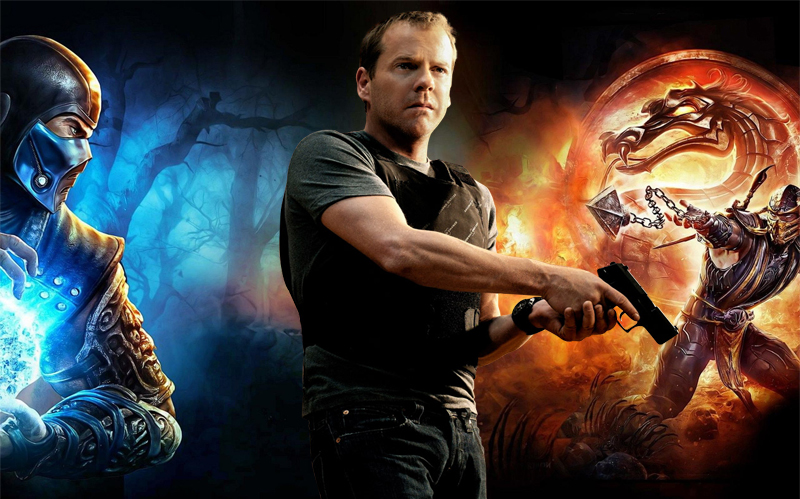 Report: Kiefer Sutherland Playing A Role In New MORTAL KOMBAT