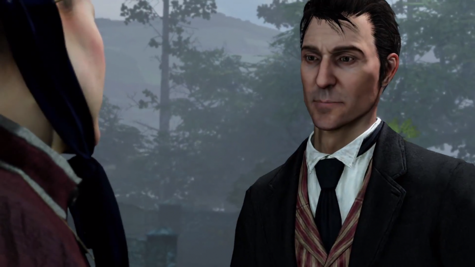Sherlock Holmes Sleuths The Video Game Scene In CRIMES AND PUNISHMENTS
