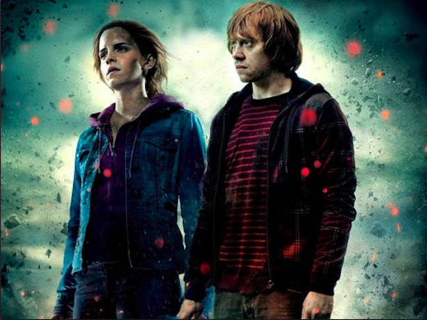 J.K. Rowling Regrets Ron and Hermione Love Match