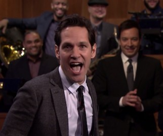 ANT-MAN Paul Rudd Dominates Jimmy Fallon's TONIGHT SHOW Lip Sync Battle