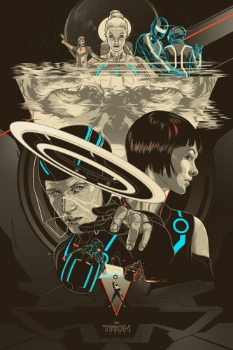 Tron Legacy by Martin Ansin