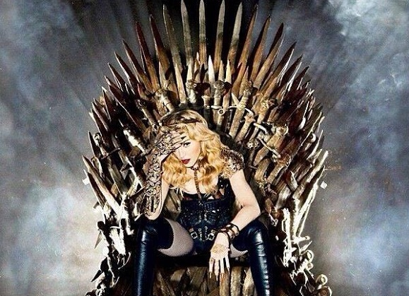 Madonna Rocks Some GAME OF THRONES Inspired Cosplay