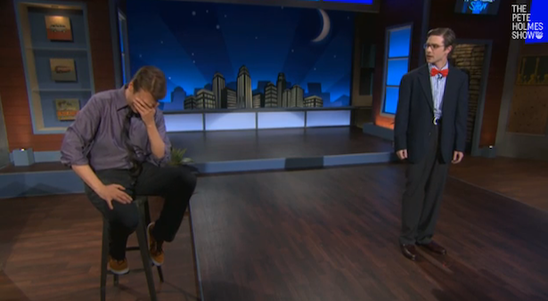 The Most Intentionally Funny Video of The Day 3/7/14: Nice Jokes by 'Nice Boy' on The Pete Holmes Show