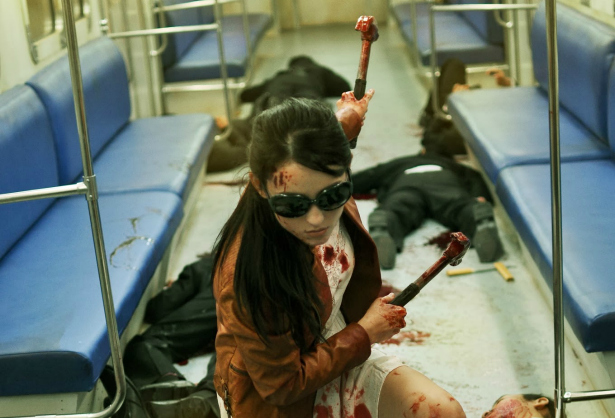 The Raid 2 Hammer Girl