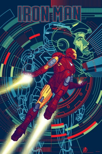Iron Man by Kevin Tong