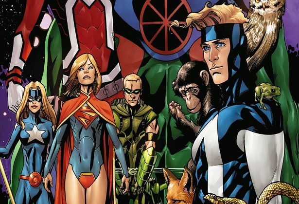 Jeff Lemire Talks Collaboration, Justice League Canada and More…