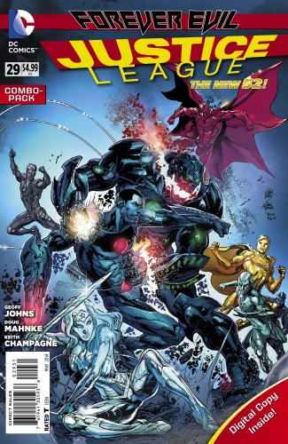 Justice League #29, combo pack variant