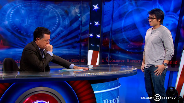 Stephen Colbert Gives a Brilliant Response to #CancelColbert