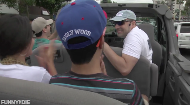 The Most Intentionally Funny Video of The Day 4/4/14: LA Traffic Tours with Tony Hale