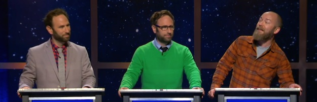 Last Night On @midnight: The Sklar Brothers, Kyle Kinane, and a Visit From Clark Gregg