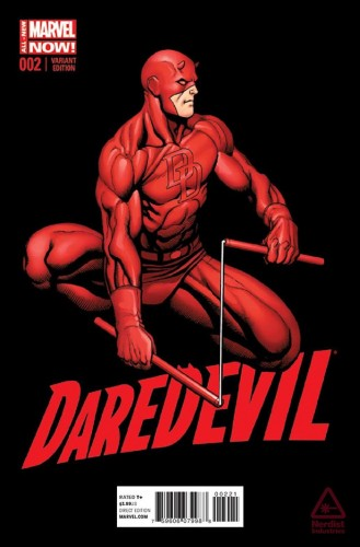 Daredevil #2, variant cover by Frank Cho