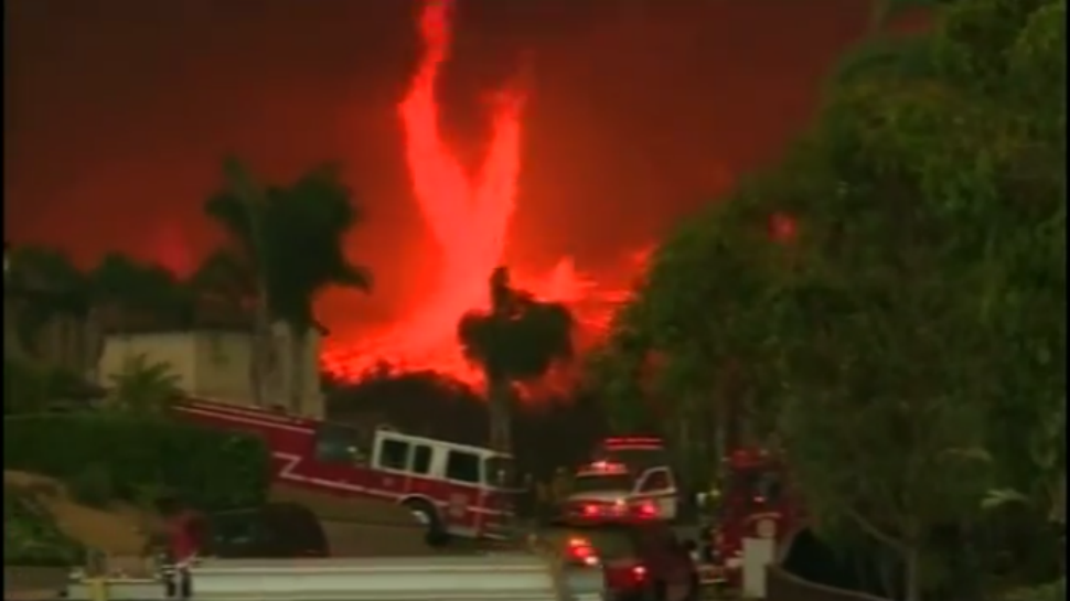The Science Behind the 'Firenadoes' of San Diego County