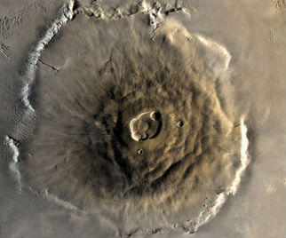 Did Volcanoes and Glaciers on Mars Create A Habitable Environment?