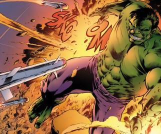 Get a Look at Alan Davis' Work on SAVAGE HULK #1