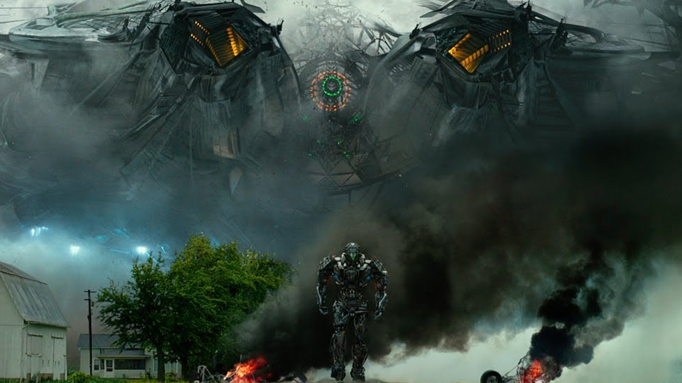 New TRANSFORMERS: AGE OF EXTINCTION Viral Sees a World in Recovery