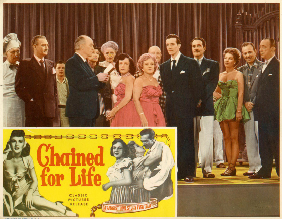 Chained for Life lobby card