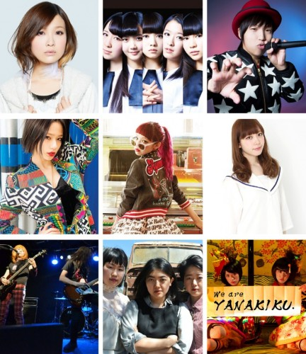 JPOP SUMMIT MUSIC ARTIST POSTER
