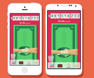 Get Money, Get Paid in MAKE IT RAIN: THE LOVE OF MONEY App From OK Go's Andy Ross