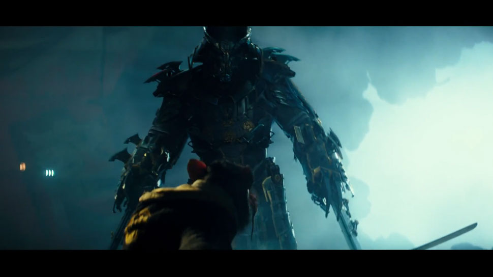 New NINJA TURTLES Trailer: How Does Shredder Walk in That Thing?