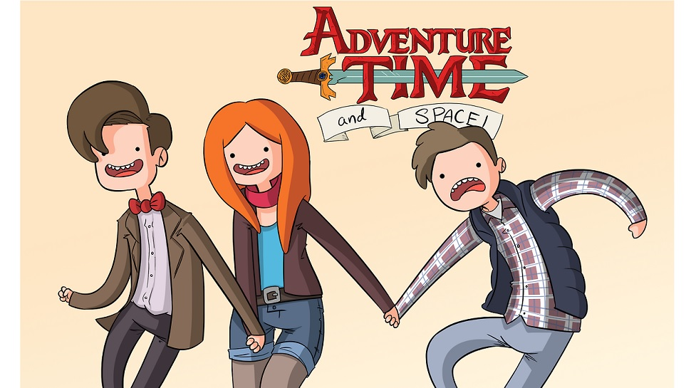 DOCTOR WHO Gets the ADVENTURE TIME Treatment
