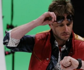 Watch Chris Hardwick Talk Comic-Con While Dressed As Marty McFly and Find Out Where You Can See Him This Weekend