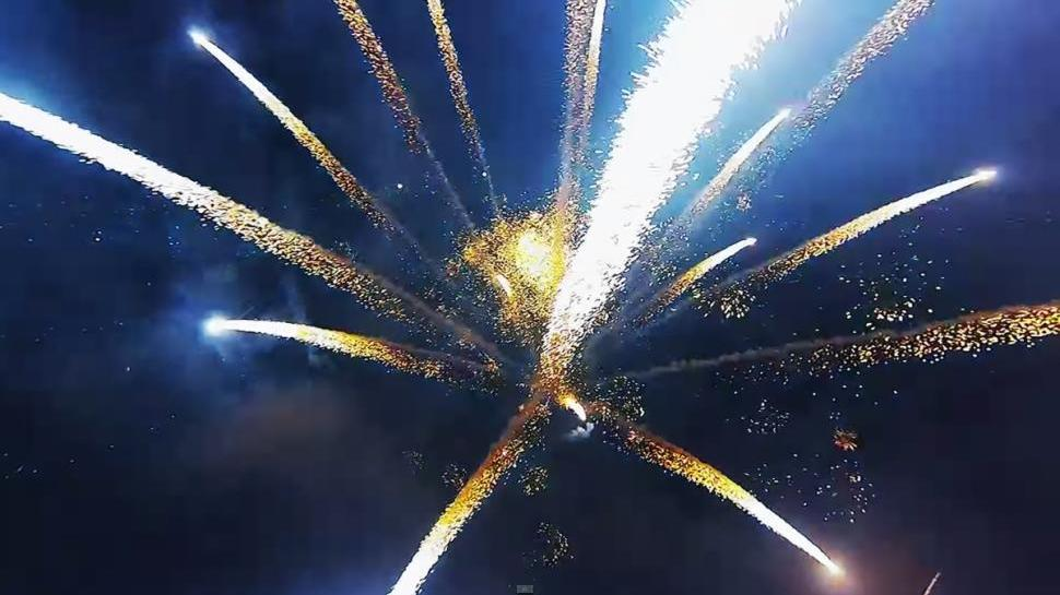 What You're Seeing: Going Inside Fireworks With a Drone