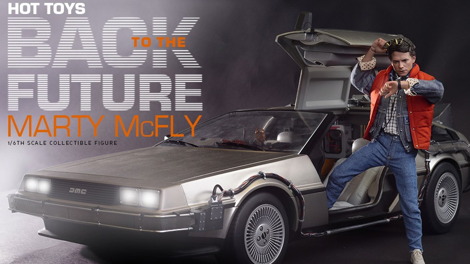 You Need to See This New 1/6th-Scale Marty McFly From Hot Toys
