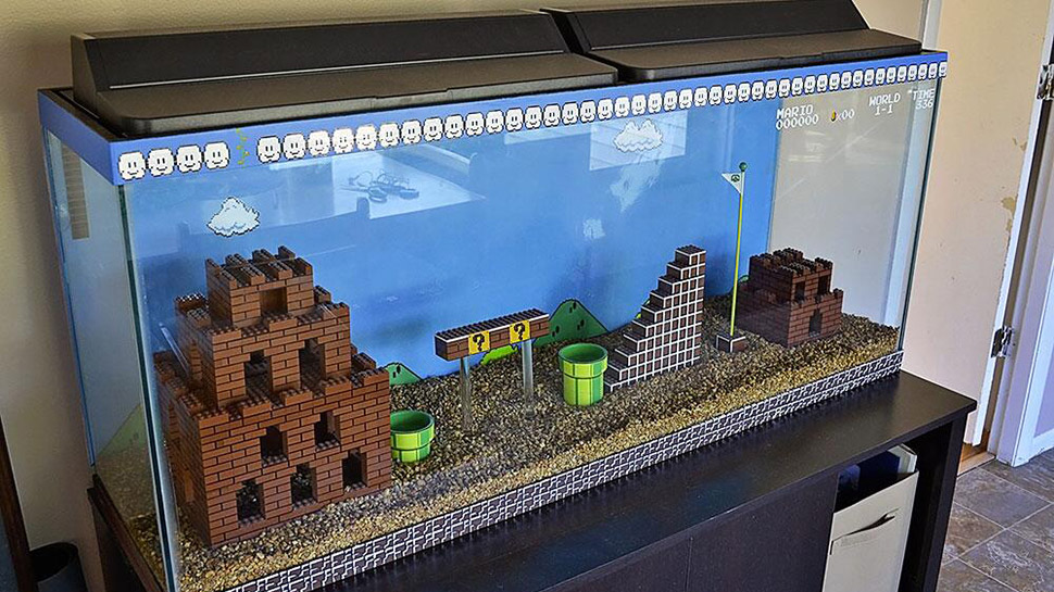 The Best Aquarium is a LEGO SUPER MARIO BROS. Aquarium