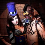 Mad Moxxi and Krieg (Borderlands 2) | Source: http://bit.ly/1mC9LfE