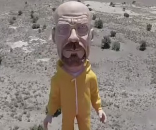 Walter White Goes To Space In BREAKING BAD Inspired Viral Video