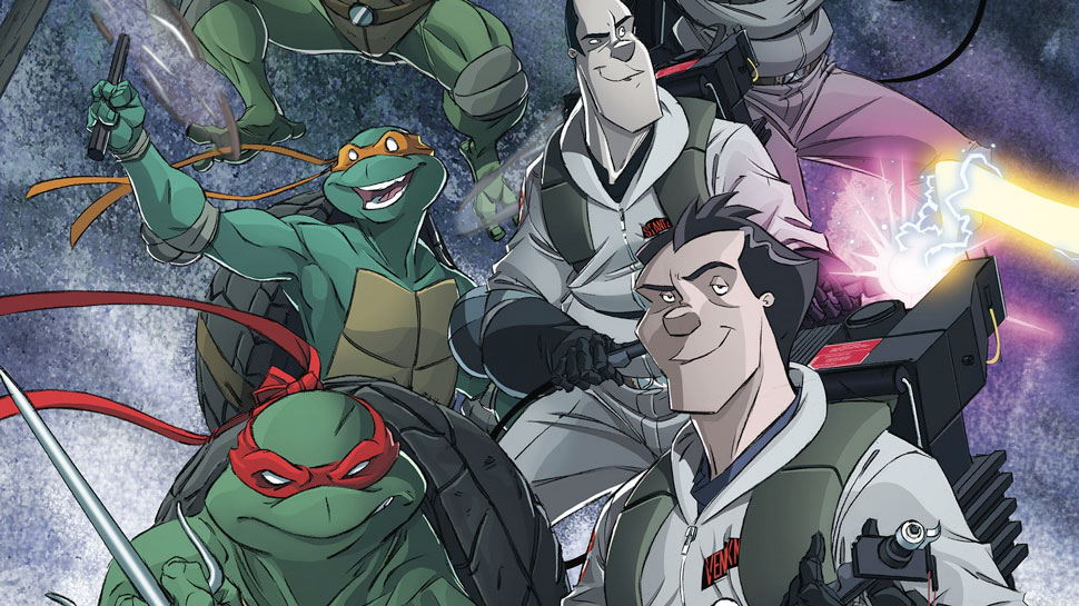 Cowa-busters: IDW Announces a GHOSTBUSTERS/NINJA TURTLES Crossover