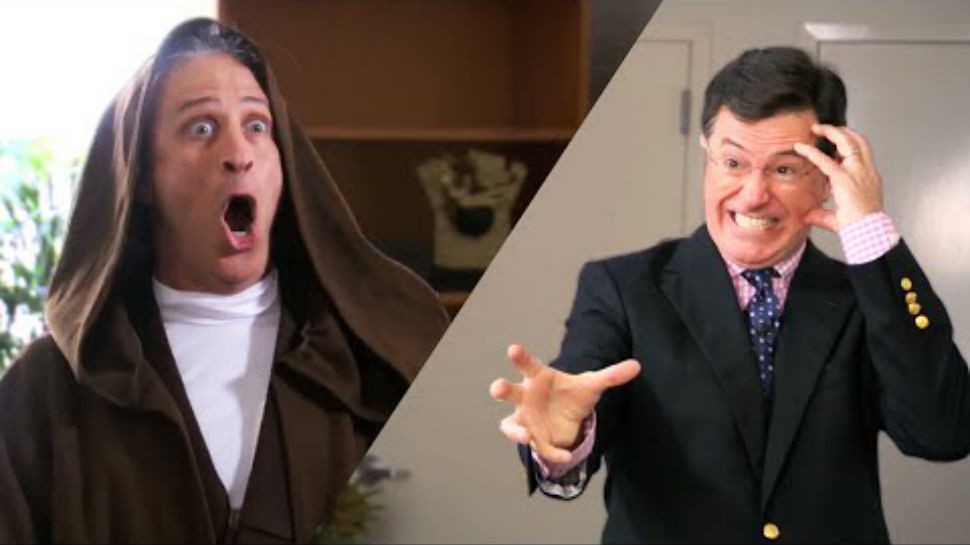 Jon Stewart and Stephen Colbert Battle Over Who Is The Ultimate STAR WARS Fan (For Charity)