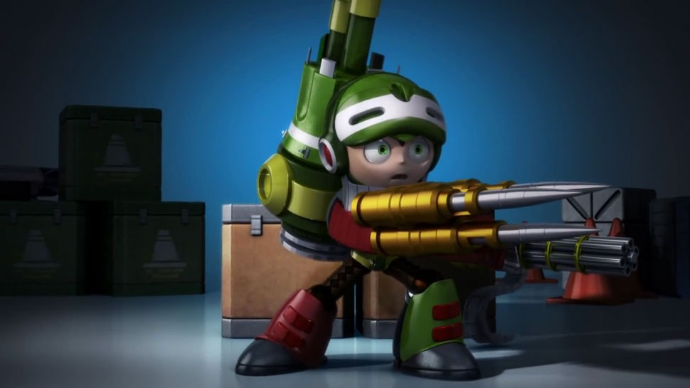 Stretch Goals Reached, Comcept Teases a MIGHTY NO. 9 CG Animated Series