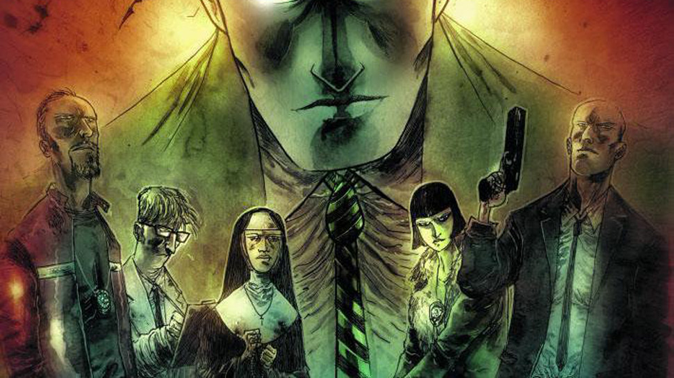 Fawkes and Templesmith to Explore Supernatural GOTHAM BY MIDNIGHT In November