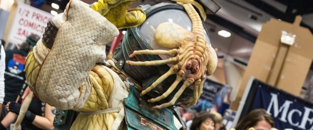 Watch MYTHBUSTERS' Adam Savage Explain His ALIEN Space Suit From Comic-Con