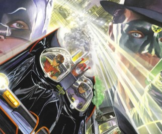 Preview: BATMAN '66 MEETS THE GREEN HORNET Ch. 9 – The Caped Crusader's Sticky Situation